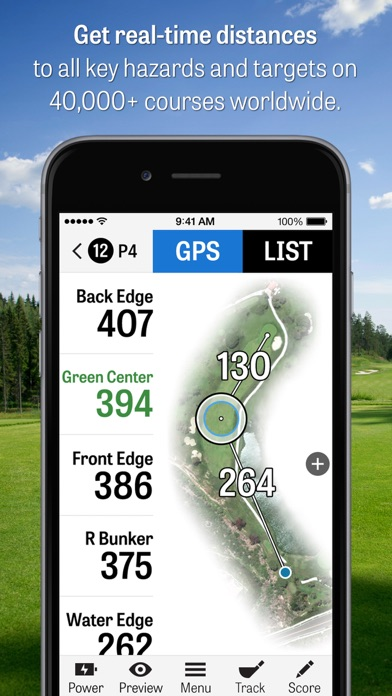 Golfshot: Golf GPS Screenshot 1