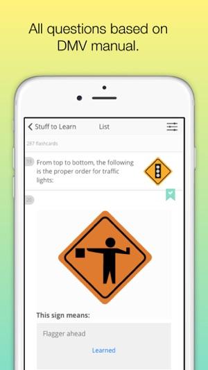 new york dmv ny permit test on the app store rh itunes apple com nys dmv drivers manual quiz results nys dmv driver's manual chapter 6 quiz