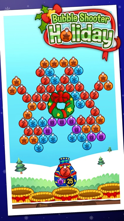 Bubble Shooter Holiday screenshot-3