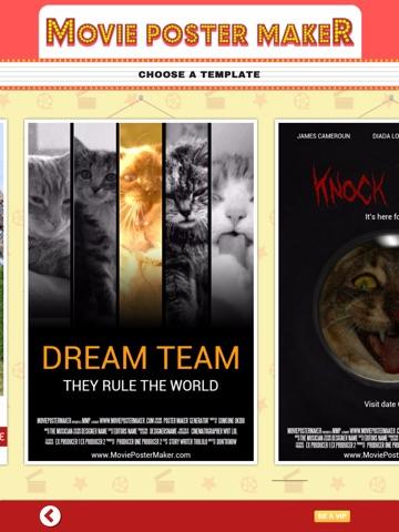 movie poster maker ポスターメーカーラボとデザイナー ipadアプリ