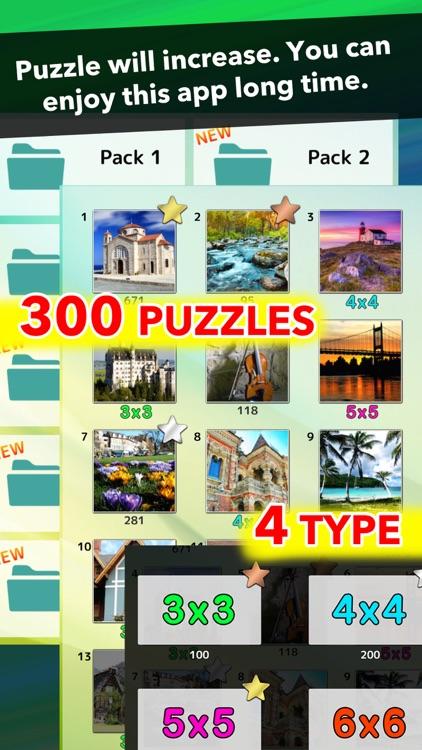Picture Tile Puzzle! Swap & Rotation screenshot-3