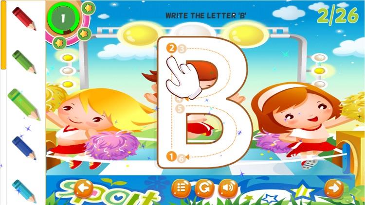 ABC Letters Tracing Practice Handwriting Preschool
