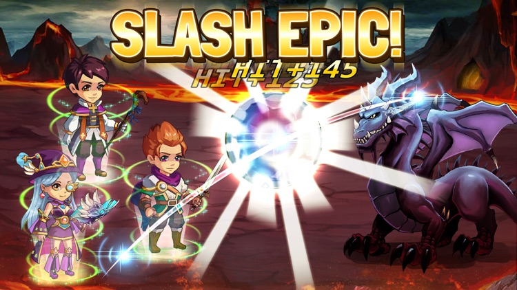 Slash Saga - Swipe Action Card RPG screenshot-3