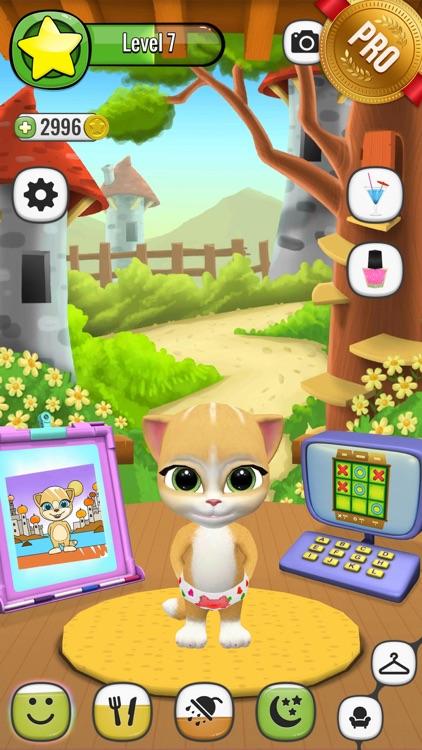 Emma The Cat PRO - Virtual Pet Games for Kids screenshot-4