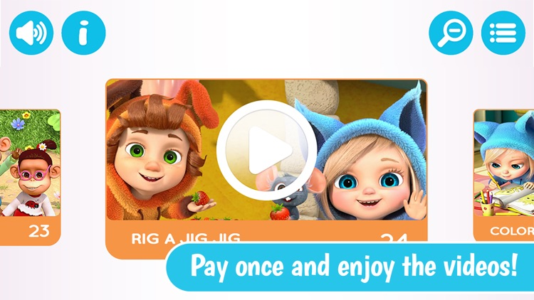 Dave and Ava Nursery Rhymes and Educational Videos screenshot-3