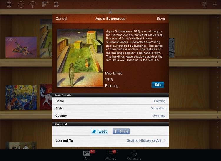 Art Collectors for iPad