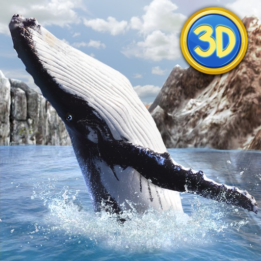Ocean Whale Simulator: Animal Quest 3D Full icon