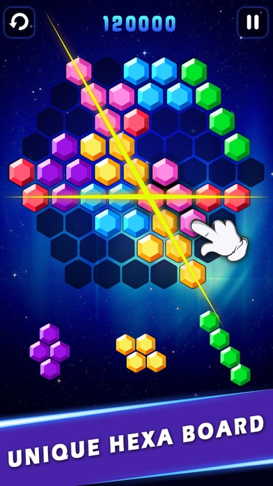 Block Hexa&Square - Classic Block Puzzle Games