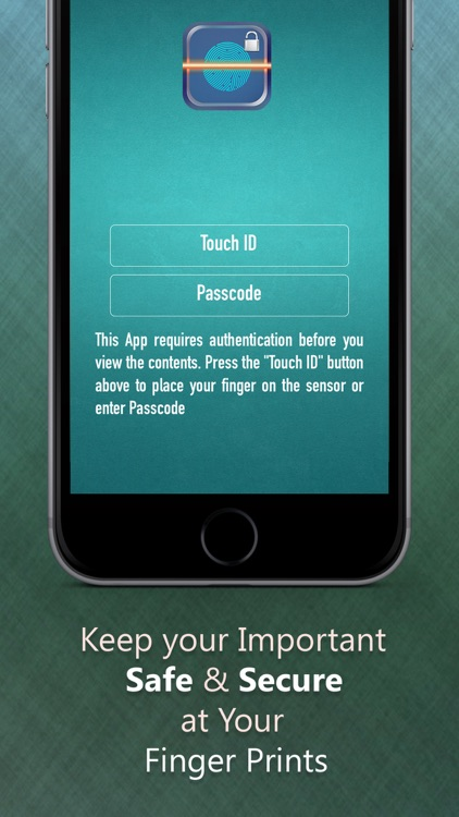 A Fingerprint Password Manager using Passcode - to Keep Secure screenshot-0