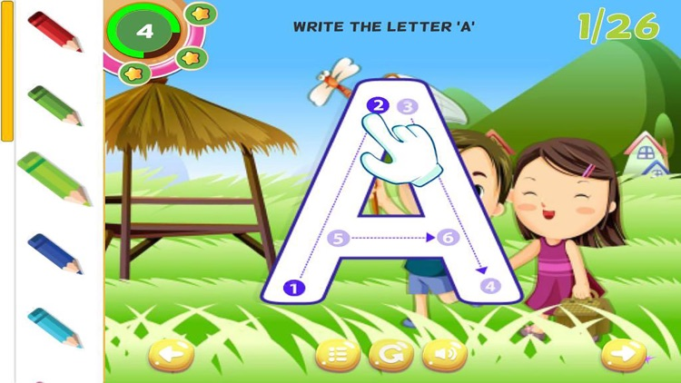 ABC Tracing Letters Learning How to Write Alphabet