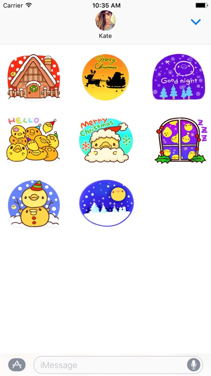 Yelly Xmas The Chicken Stickers screenshot-3