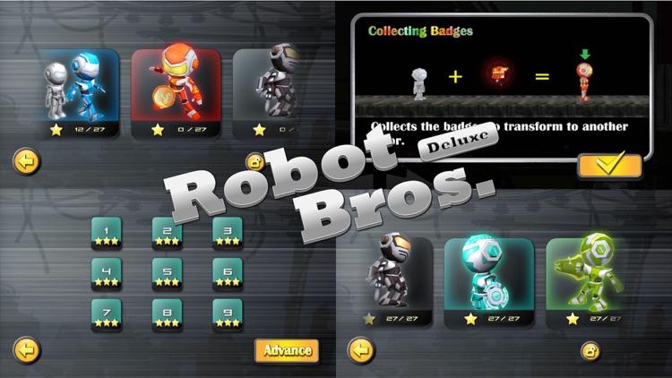 Robot Bros Deluxe Free screenshot-4