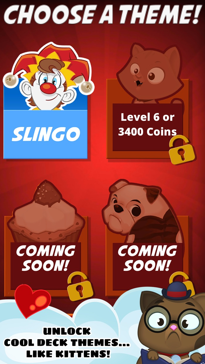 Slingo Showcase Screenshot