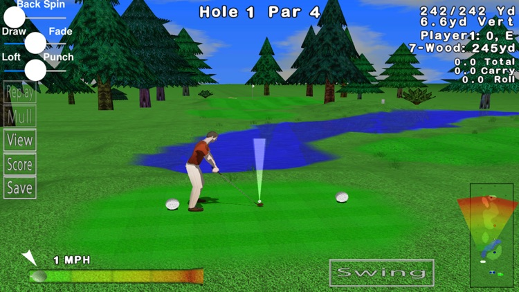 GL Golf Deluxe screenshot-0