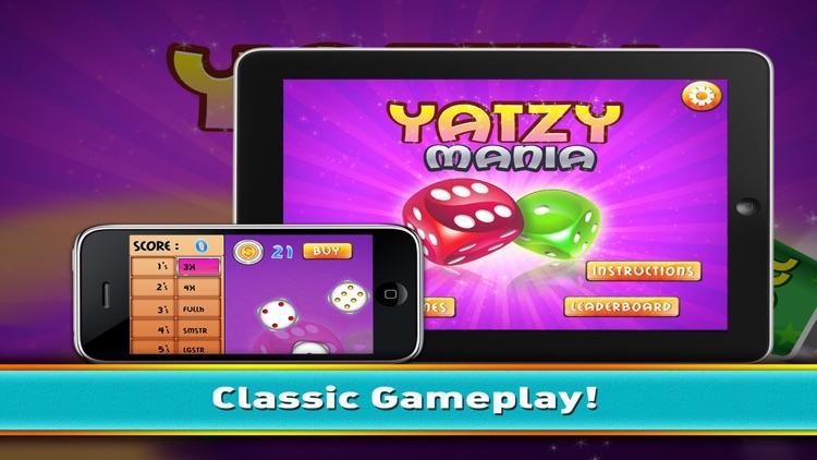 Yatzy Mania - Classic Yahtzee Dice Skill Game Free