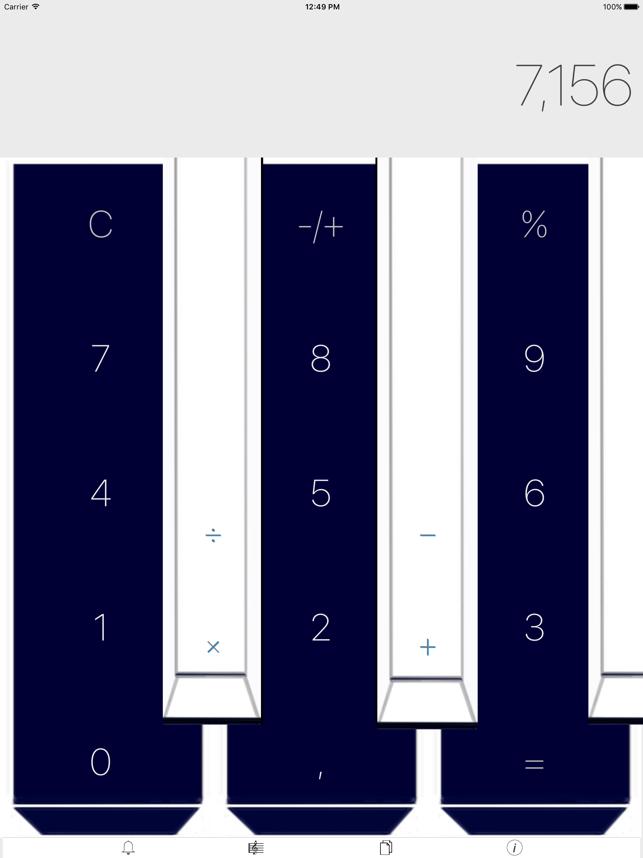High Speed Calculator Screenshot