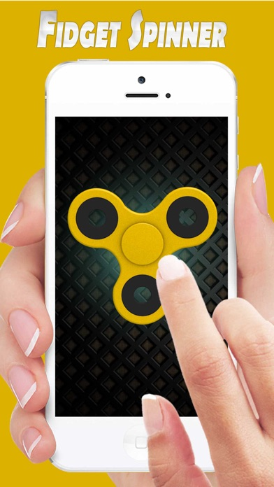 Fidget Hand Spinner Simulator - Top Finger Spinner