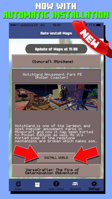 Maps for Minecraft PE - Pocket Edition app image