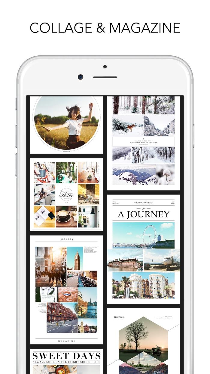 MOLDIV - Photo Editor, Collage & Beauty Camera Screenshot