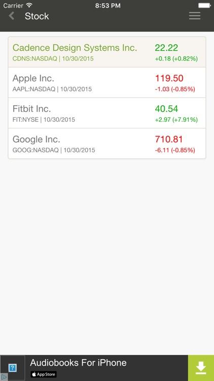 Stock Analysis Free screenshot-3