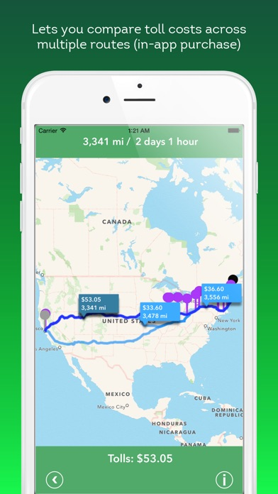 Tollsmart Toll Calculator for Cars, Trucks & RVs app image