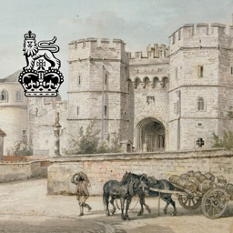 Capturing Windsor Castle: Sandby Watercolours