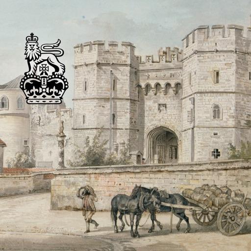 Capturing Windsor Castle: Sandby Watercolours