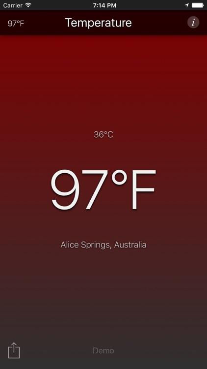Temperature App screenshot-3