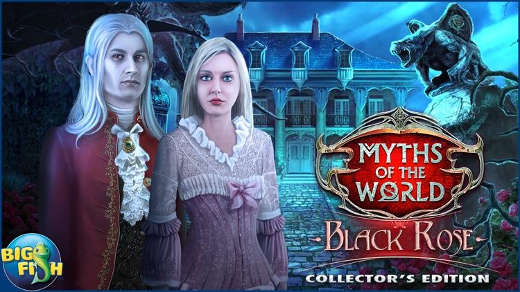 Myths of the World: Black Rose - A Hidden Object Adventure (Full) screenshot-4