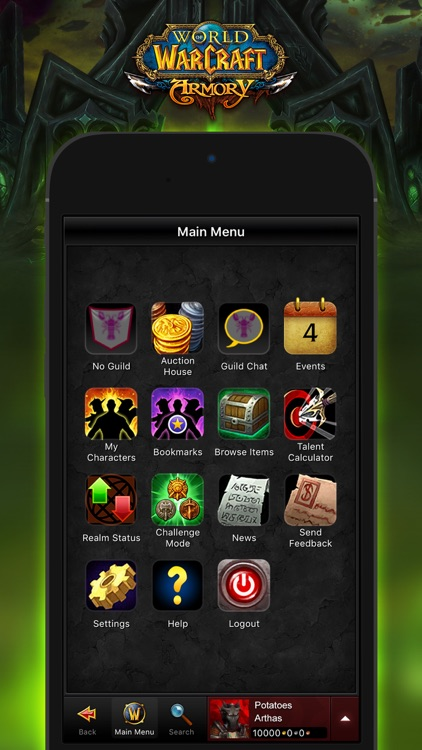 WoW Mobile Armory screenshot-2