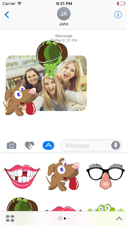 Silly Stickers for iMessage