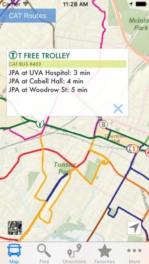 Charlottesville Area Transit on the App Store