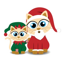 Christmas Kitties Sticker Pack