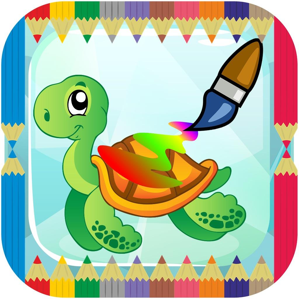 Animals zoo Coloring Preschool - Education drawing hack