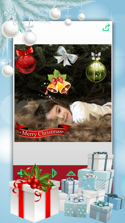 Christmas Photo Booth: Xmas Sticker Picture Editor screenshot-3