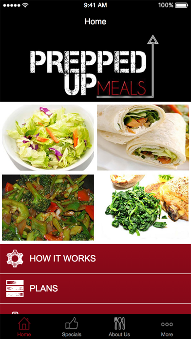 Prepped Up Meals screenshot one