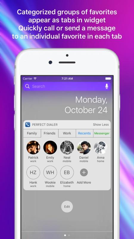 Perfect Dialer - Favorites Widget Dial & SMS - Online Game