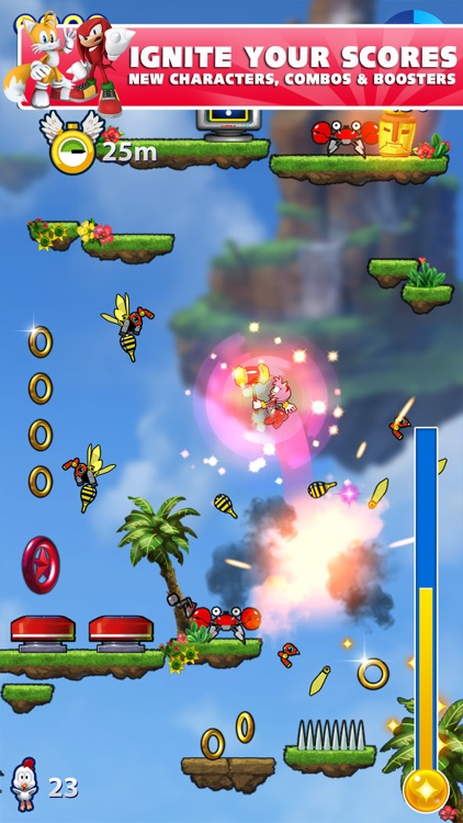 Sonic Jump Fever screenshot-4