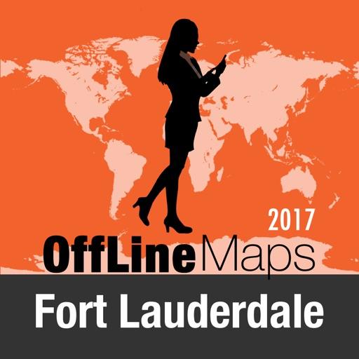 Fort Lauderdale mapa offline y guía de viaje