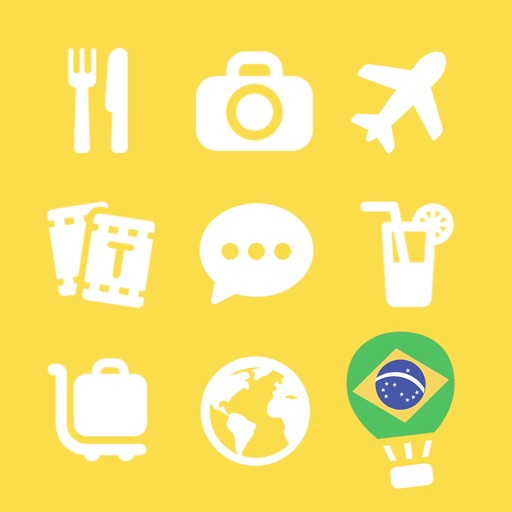 LETS Travel Brazil! Brazilian Phrase Guide Book