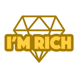 I'm Rich - Luxury Stickers
