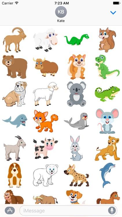 Cute Animals Sticker for iMessage #4