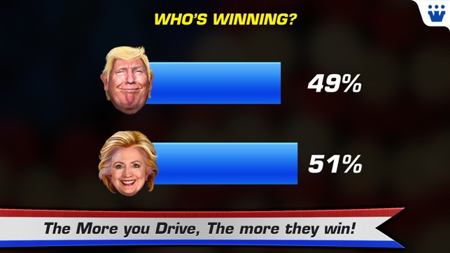 Race To White House   2020   Trump Vs Hillary On The App Store