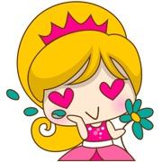 Princess Kayla for iMessage Sticker