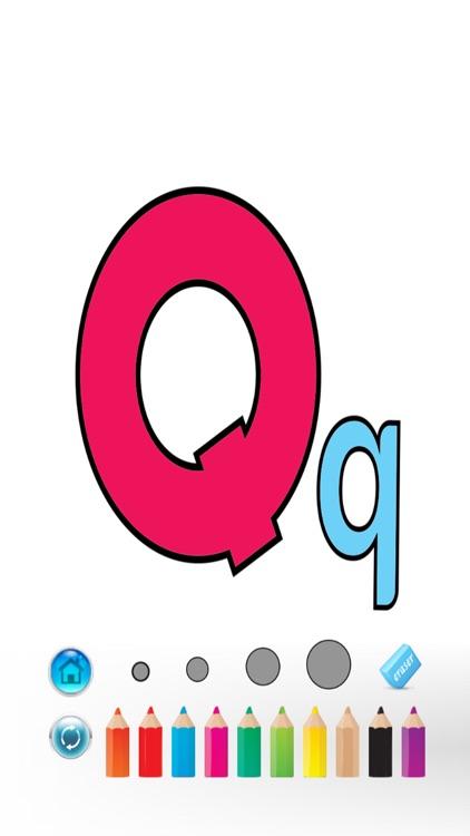 ABC Alphabet Color Book screenshot-3