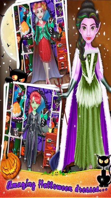 Crazy Halloween Salon for Girls - Kids game screenshot four