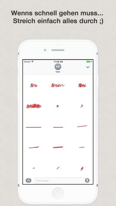 Grammatik Rotstift für iMessageScreenshot von 3