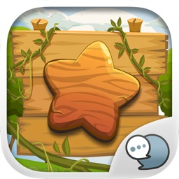 Wood Emoji Stickers Keyboard Themes ChatStick