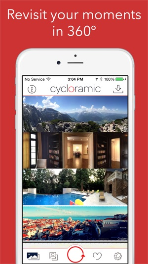 Cycloramic Screenshot