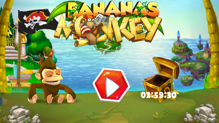 Monkey Legend - Banana Island